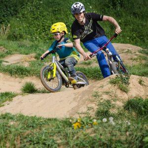 Pumptrack Kurse MTB Mountainbike Fahrtechik
