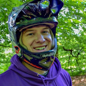 Trainer Basti Mountainbike Fahrtechnik Portrait