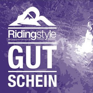Mountainbike Kurs Gutschein Ridingstyle