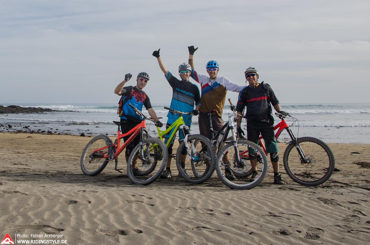 Fabian von Ridingstyle MTB Fahrtechnik auf Teneriffas Trails 04
