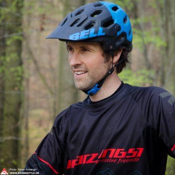mountainbike Trainer Fabian und Chef der Bikeschule