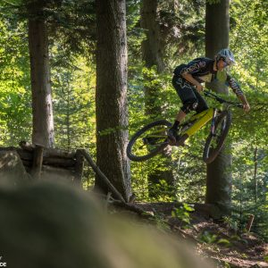 Sprung Technik Training E-Mountainbike Heidelberg Training