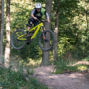 E-MTB Sprung Technik Training E-Mountainbike